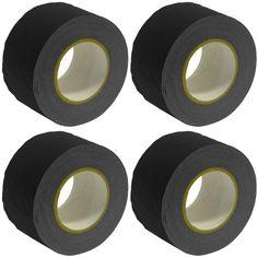 Gaffer's Tape - Black - 3 inch (4 Pack)