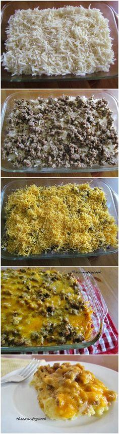 Sausage Hashbrown Breakfast Casserole - MADE