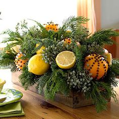 Winter centerpiece