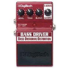 Digitech XBD Bass Driver Overdrive