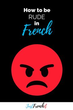 How rude can you be in French? Do you know many swears words? And what can they tell us about french society? Shall we find out. + Grab the FREE goodie on the blog. #frenchslang #frenchswearwords #putain #frenchphrases