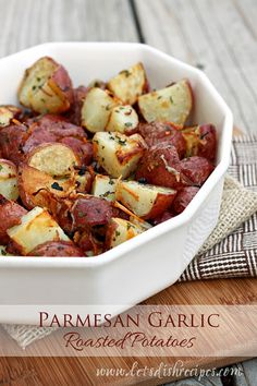 These potatoes are a good example of how keeping it simple is often best. There aren't a lot of fancy ingredients, but they taste fabulous and make a great side dish for almost any meal. You can ...