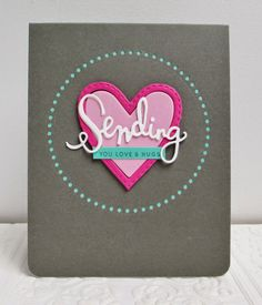 I adore this card by Heather using Simon Says Stamp Exclusives.