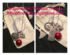 Origami Owl Tagged- Mom/family tagged collection Whoohoot129.origamiowl.com