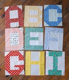 Free patchwork alphabet inspired by a quilt by kathryn simel piece blogged messyjessecraftsspot201402spell spiritdancerdesigns Gallery
