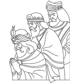 Adult coloring pages Christmas: great drawings of Christmas Christmas Nativity, Christmas Art, Christmas Projects, Bible Coloring Pages, Adult Coloring Pages, Coloring Books, Christmas Drawing, Christmas Paintings, Three Wise Men