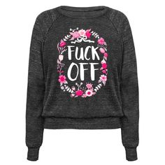 This floral feminist shirt is perfect for all antisocial people who are sick of the patriarchy and of 2016 in general, so just, fuck off, but nicely, like a cute floral design. This sarcastic shirt is great for fans of feminist apparel, feminist qutoes and sassy quotes.