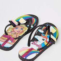 d459458241b Girls Ipanema Barbie Fantasia flip flops