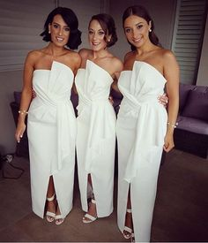 Gorgeous #bridesmaids in our Stellina Dress • @kimagehair @c.h.makeup.artist #whiterunway #realrunway