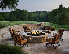 This looks like the perfect spot for a party, stock up on the firewood & invite some friends over for a bonfire.