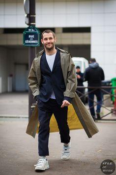 Simon Porte Jacquemus Street Style Street Fashion Streetsnaps by STYLEDUMONDE Street Style Fashion Photography