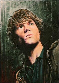 Supernatural -Sam Winchester by DavidDeb.deviantart.com