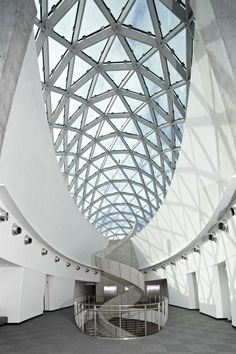 Salvador Dali Museum in St Petersburg, Florida designed by HOK http://www.hok.com/