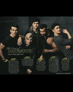 #SexiestMenAlive<<<Lol, why is Luke the only one showing off his muscles?? Doesn't everyone know we all wanted it to be Alec??