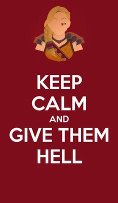 Tyra's motto.