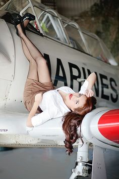 military pinups | Riverside Military Pin Up Photographer » SS Photography | Pinup Love