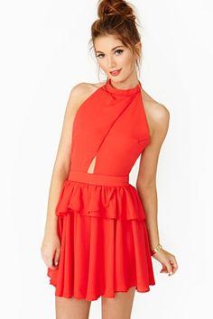 Fiery Heart Dress