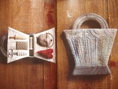 Basket made from Cloth by Yoko Saito Sewing Caddy, Sewing Kits, Yoko Saito, Needle Book, Needle Case, Japanese Books, Quilted Bag, Fabric Bags, Sewing Accessories