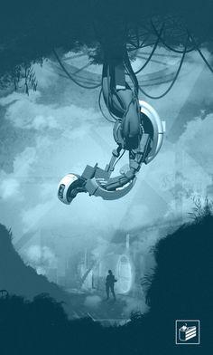 Portal 2 poster