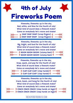 Fourth Of July Songs, Fourth Of July Crafts For Kids, 4th Of July Fireworks, July 4th, Patriotic Songs For Kids, American Patriotic Songs, Patriotic Crafts, Preschool Songs, Kids Songs