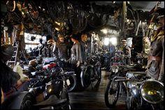Garage shop life