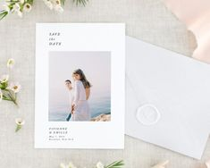 Trendy Wedding Invitations Rustic With Picture Place Cards Save The Date Pictures, Modern Save The Dates, Rustic Save The Dates, Floral Save The Dates, Modern Wedding Invitations, Elegant Invitations, Wedding Invitation Cards, Wedding Stationery, Wedding Cards