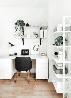 Home Office Design, Home Office Decor, Home Decor Bedroom, Diy Home Decor, House Design, Bedroom Ideas, Diy Bedroom, Office Ideas, Modern Bedroom