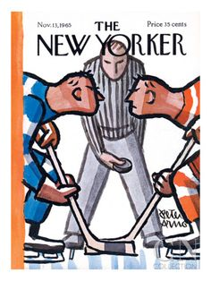 Peter Arno : Cover art for The New Yorker 2126 - 13 November 1965 The New Yorker, New Yorker Covers, Capas New Yorker, November 13, Magazine Art, Magazine Covers, Arte Pop, Arno, Sports