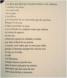 Cosa de uno, Miguel Gane