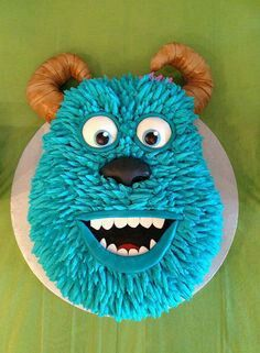 Monsters Inc. Sully Cake - For all your cake decorating supplies, please visit craftcompany.co.uk