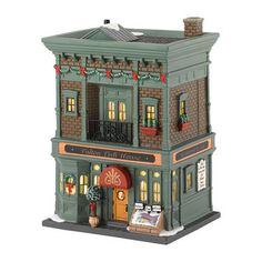 Department 56, Christmas in the City; Fulton Fish House