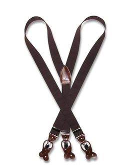 http://www.krisarclothing.com/p-1012-mens-brown-suspenders-y-shape-back-elastic-button-clip-convertible.aspx