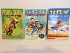 "Set Of 3 Beverly Cleary""RAMONA THE PEST, HENRY/RIBSY, OTIS SPOFFORD"" Paperbacks  #BEVERLYCLEARY"