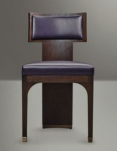 A chair by David Collins for Promemoria