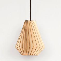 Birkenholz-Stecklampe Hector