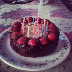 Chocolate & Strawberry Strawberry, Chocolate, Baking, Cake, Desserts, Food, Tailgate Desserts, Deserts, Bakken