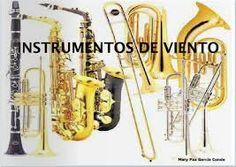 Resultado de imagen para instrumentos de viento