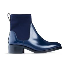 COMET NAVY EQUESTRIAN BOOT fra Acne
