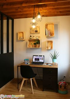 Discover recipes, home ideas, style inspiration and other ideas to try. Sweet Home, Salon Style, Corner Desk, My House, Ikea, House Design, Pure Products, Interior Design, Bedroom