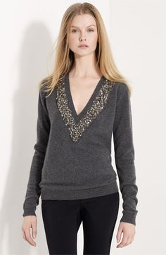 Burberry Prorsum Embellished Sweater