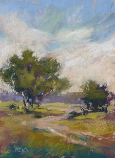 'Take Me to the Meadow'        5x7 pastel   ©Karen Margulis