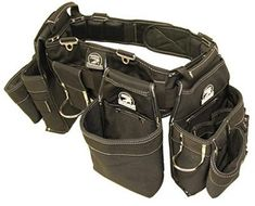 4. Gatorback B145 Carpenters Triple Combo w/Pro-Comfort Back Support Belt Carpenter Tool Belt, Carpenter Tools, Best Tool Bag, Electrician Tool Belt, Machinist Tools, Work Belt, Tool Pouch, Fun To Be One, Vest