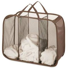 Chocolate Pop N Fold Laundry Sorter- More Colors Online $14.95