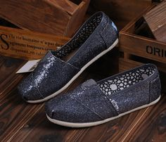 fresh and ready for your feet,TOMS shoes,god...SAVE 70% OFF! this is the best! | See more about glitter shoes, toms shoes outlet and fashion shoes.