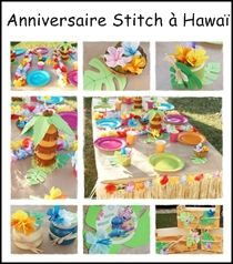 activite manuelle theme hawai