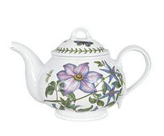 Teapot - Portmeirion Botanic Garden - Retro Home Decor.net