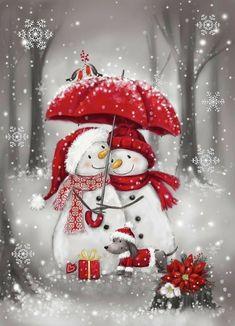 Christmas Snowman, Winter Christmas, Christmas Time, Christmas Crafts, Christmas Decorations, Christmas Ornaments, Xmas, Christmas Rock, Christmas Cartoons