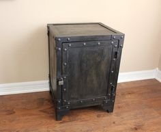 Industrial Steel Cabinet / Locker / Chest by ModIndustrial on Etsy, $375.00