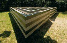 Labirinto, Roberto Morris, Galleria Gori-Collezione Celle, 1982.