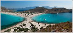 Simos beach, Elafonisos, Greece Vacation Destinations, Vacation Spots, What's Life, What Is Life About, Greek Islands, Beaches, Greece, To Go, Bucket